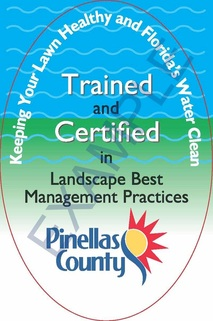 Certified Arborist Pinellas County, Pinellas County Certified Arborist. Pinellas County Landscape BMP Certified